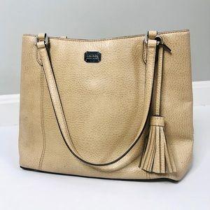 Lauren Ralph Lauren Leather Shoulder Bag